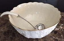 Lenox HOLIDAY HOSTESS Punch Bowl Ladle ~ Excellent!!