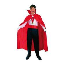 Capa vampiro dracula roja unisex carnaval Halloween disfraces