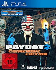 Payday 2 - Crimewave Edition (Sony PlayStation 4 Spiel, 2015, USK 18)