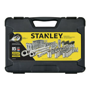 Stanley STMT71651 85-Pc. 1/4 in. and 3/8 in. Drive Mechanic's Tool Set New