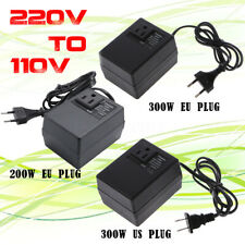 200W/300W Voltage Converter Transformer 220V To 110V Step Down Travel   n