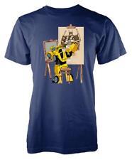 Transformer Bumblebee Artist Painting Adult T Shirt