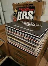 Hip Hop Vinyl Lot of 10 Rap,R&B, Reggae & More  DJ Collection 1980s -2000s