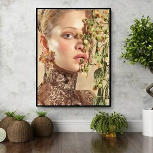 Ethereal Beautiful Model Wall Decor Poster , no Framed, Ethereal Beautiful Model