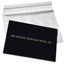 All'inizio era la parola al. (Vetro acrilico carta) di Timmberwolf magica