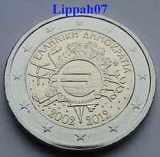 Griekenland 2 euro 10 jaar Euro 2012 UNC