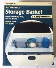 CargoLoc Adjustable Storage Basket! Works w/ Cars, Vans,  SUVs, Trucks! 84066