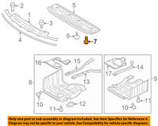 KIA OEM 11-16 Optima Splash Shield-Under Cover Bolt 1125406306B