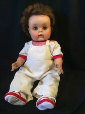 """Vintage Baby Doll American Character Toodles 20"""" Rooted Hair 1950's Needs Tlc"""