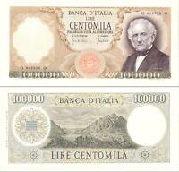 1970 Italia Banconota Lire 100000 Manzoni  D.M. 19-07-70 Discreta Vedi Foto R3