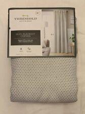 """Blackout Curtain Panel Drapes Rod Pocket - Gray, 50x84"""" - Threshold - New"""