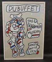 Jean Dubuffet (1901 - 85) - Art brut - Plakat the Guggenheim Museum - NY 1973
