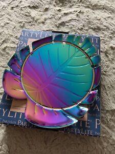 Partylite Rainbow Noir Jar Holder P92941 Brand New