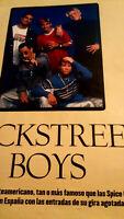 Backstreet Boys.. Especial De 7 Páginas.
