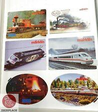 Z H0 scale ho Märklin mini-club advertising Sticker Aufkleber Pegatina Set 6x