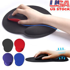 Mouse Pad, Ergonomic Mouse Pad with Gel Wrist Rest Support for Computer, Laptop,