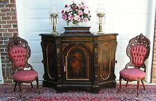 SPECTACULAR VICTORIAN ROSEWOOD CREDENZA