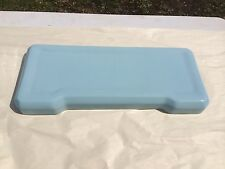 (X-1) Vintage Retro Toilet Tank Lid Colored K55 Wedgewood Oxford Blue 1962