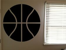 Basketball Ball Sports Room Boys Cool Vinyl Wall Art Removable Decal Sticker