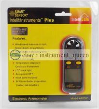 Smart Sensor AR816+ Digital Air Wind Speed Gauge Anemometer Meter Tester