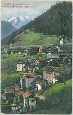 CARTOLINA d'Epoca BELLUNO provincia - Andraz 1915