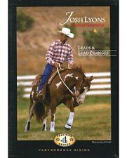 New SEALED Josh Lyons Leads & Lead Changes DVD Horse Training John Lyons Legacy