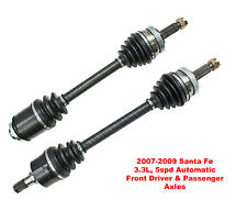 2 New CV Axles Front Left & Right Santa Fe 3.3L 5speed Automatic  With Warranty