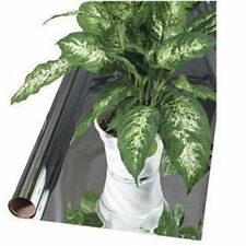 "Reflective Mylar 4' x 50' 2 MIL Thickness 48"" x 50' Dual Side Mirror Film"