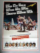 LANCASTER, DOUGLAS * UNTERNEHMEN ENTEBBE - A1-Filmposter -German 1-Sheet USA1976