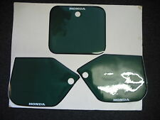 Number Backgrounds CR 250 1987 RH GREEN also CR 125 500 87-88 Decals