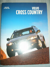Volvo Cross Country brochure 2001 Swedish text