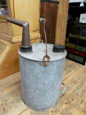 Alter Metall Kanister, Industriedesign, vintage Kanister