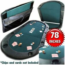 Trademark Poker Texas Hold'Em Folding Tabletop with Cup H W