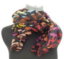 Écharpes et châles foulard noir avec des motifs À Pois pour femme