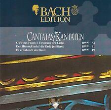 Bach: Cantatas-Kantaten BWV 34, 31 & 19/CD-Top-stato