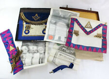Collection of antique Masonic items dating from the 1910s and 20s