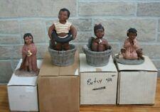 Lot of 4 Miss Martha Originals: All God's Children Collectible Figurines