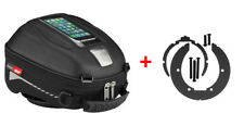 Givi Tanklock Combo Kit - ST602 4 Liter Tank Bag & BF02 Ring Mount