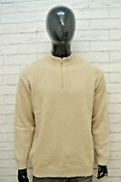 RIFLE Maglione Uomo Maglia Pullover con zip Felpa Lana Sweater Man Taglia XL
