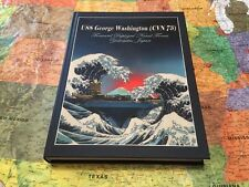 USS GEORGE WASHINGTON CVN-73 CRUISE BOOK YEAR LOG 2015