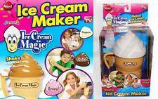 GELATO Crema Maker Set AS Seen on TV Congelatore Ghiaccio Lolly Pop Stampo Maker Kids