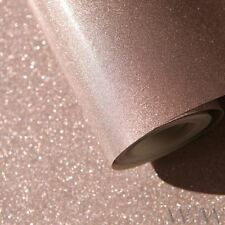 LUXE GLITTER SPARKLE WALLPAPER ROSE GOLD WINDSOR WALLCOVERINGS WWC015 WALL DECOR