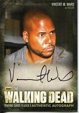 WALKING DEAD SEASON 3 PART 1 Autograph Card by Vincent M. Ward A10