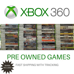 Xbox 360 Games Choose your Title! With Booklet Good Condition Fast Tracking Post
