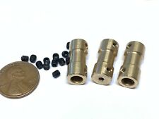 3 sets Motor Coupling Coupler Connector Drive Shaft 2 5mm Connector boat rc C22