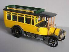 RIO 1:43 MADE IN ITALY AUTO DIE CAST 1915 FIAT OMNIBUS 18 BL GIALLO ART 20