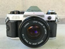 Nice Canon AE-1 Program 35mm SLR Film Camera with 50 mm 1:1.8 Lens