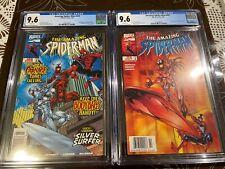 Amazing Spider-man #430 CGC 9.6 & #431 CGC 9.6 Both Newsstand Cosmic Carnage
