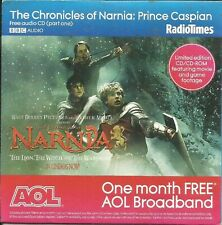 CHRONICLES OF NARNIA: PRINCE CASPIAN -  FREE POSTER PART 1  RADIO TIMES PROMO CD