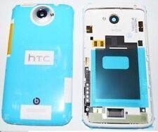 COVER GUSCIO CHASSIS per HTC ONE X S720E ORIGINALE RETRO POSTERIORE RICAMBIO